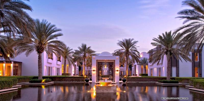 The Chedi Muscat Hotel 5 Star Luxury Hotels