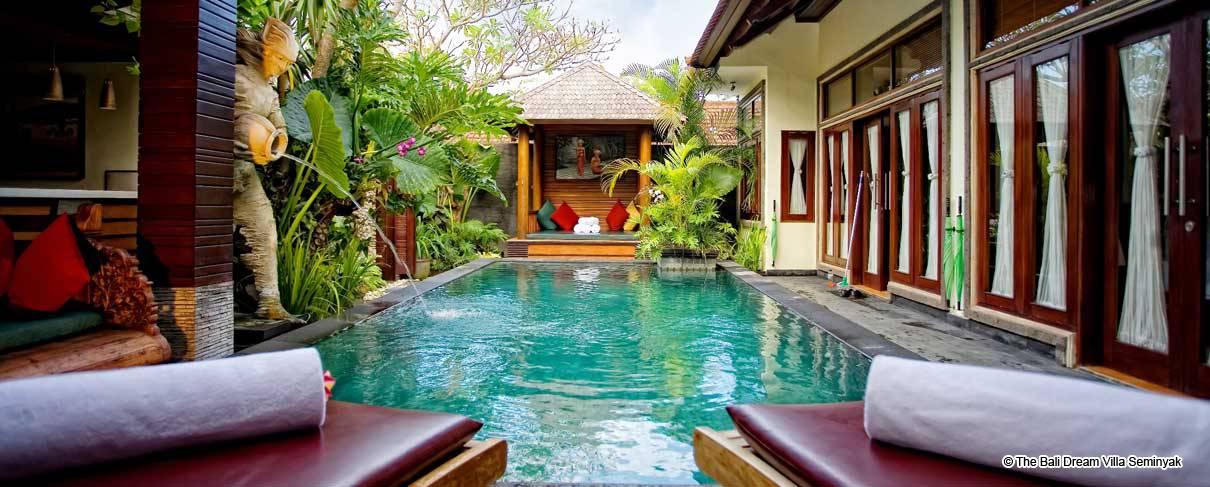 Hotel The Bali Dream Villa Seminyak 5 Star Luxury Hotels