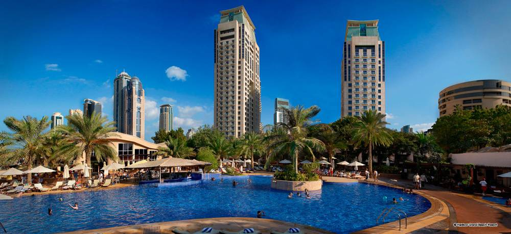 Habtoor grand beach resort dubai vereinigte arabische for Top five star hotels in dubai