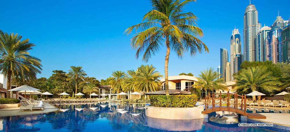 Habtoor grand beach resort dubai vereinigte arabische for Luxury hotels in dubai